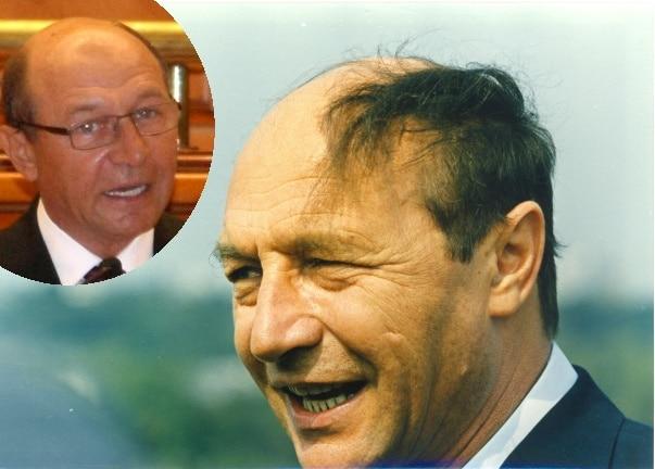Traian Basescu - ieri si azi