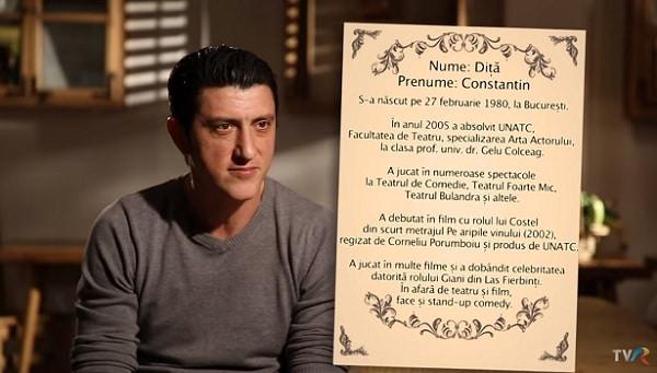 Biografie Constantin Dita
